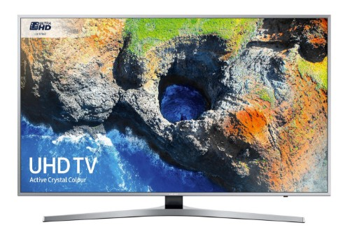 "Samsung MU6400 49"" 4K Ultra HD Smart TV Wi-Fi Black, Silver LED TV"