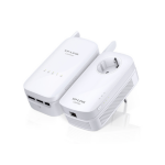 TP-LINK AV1200 1200Mbit/s Ethernet LAN Wi-Fi White 2pc(s) PowerLine network adapter