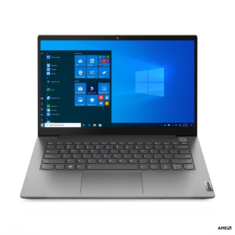 """Lenovo ThinkBook 14 Portátil 35,6 cm (14"""") Full HD AMD Ryzen 5 8 GB DDR4-SDRAM 256 GB SSD Wi-Fi 6 (802.11ax) Windows 10 Pro Gris"""