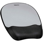 Fellowes 9175801 Black,Silver mouse pad