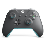 Microsoft WL3-00106 Spielkontroller Gamepad PC,Xbox One Analog / Digital Bluetooth Blau, Grau