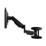 "Fellowes 8043501 flat panel wall mount 42"" Black"