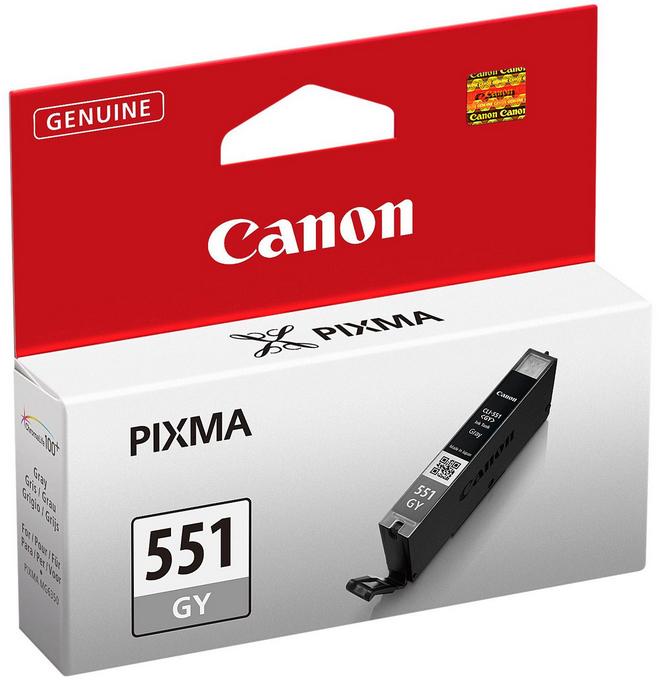 Canon CLI-551 GY Original Grijs 1 stuk(s)