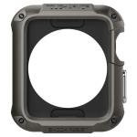Spigen Tough Armor Apple Watch 1 & 2 (42mm) Case Opbergtas Zwart Polycarbonaat, Thermoplastic polyurethaan (TPU)