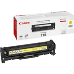 Canon 2659B002 (718Y) Toner yellow, 2.9K pages @ 5% coverage 2659B002AA