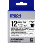 Epson LK-4TBW labelprinter-tape