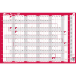 Sasco 2410127 wall planner Pink,White 2021