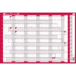 Sasco 2410127 wall planner Pink,White 2021