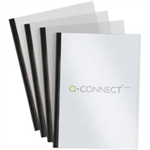 Q-CONNECT Q CONNECT SLIDEBINDER/COVER SETS BK P100
