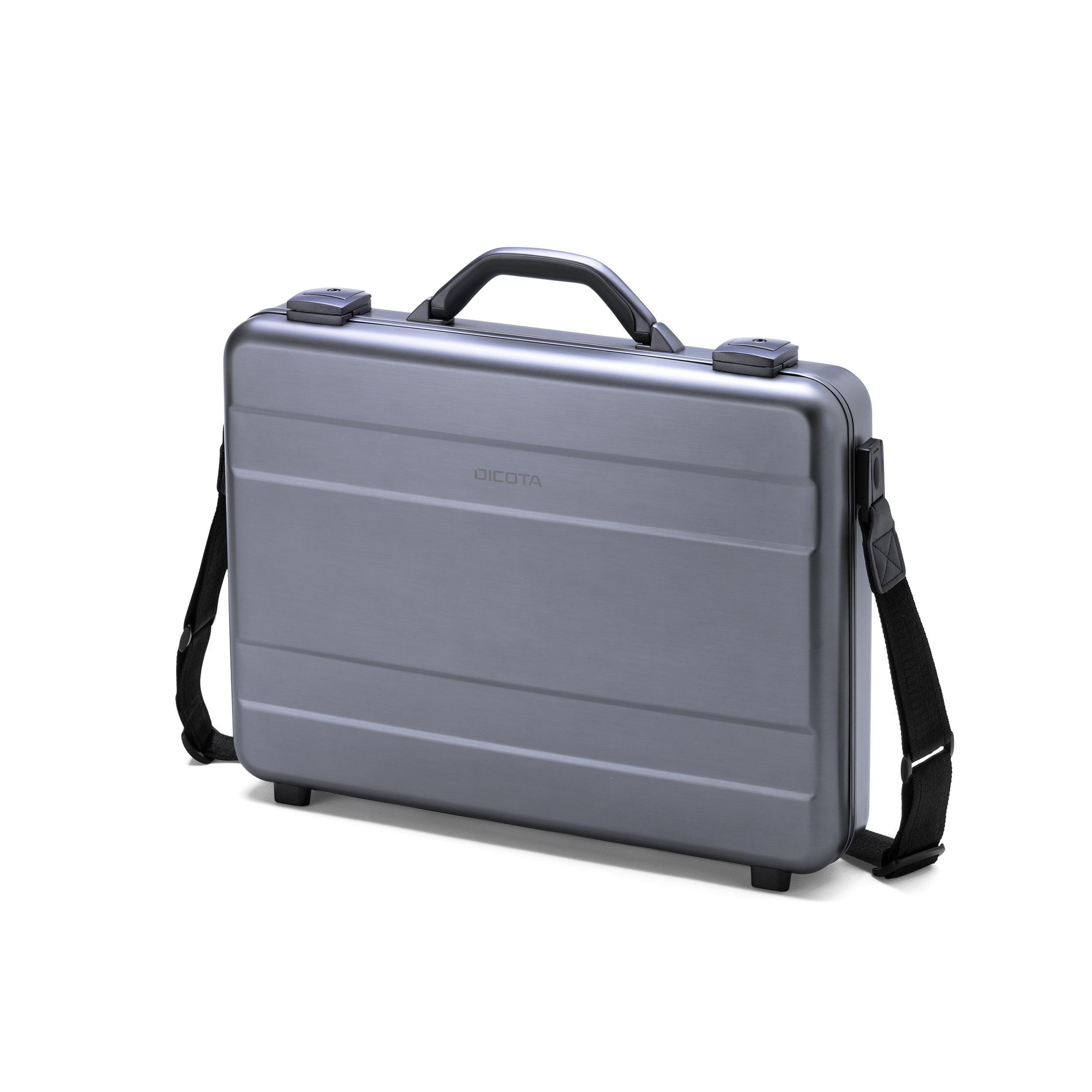 """Dicota Alu 17.3"""" Briefcase Aluminium"""