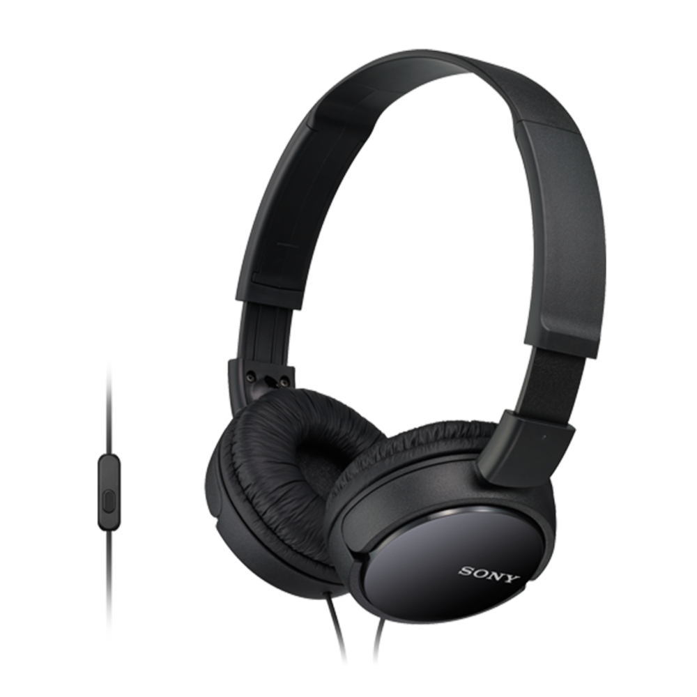 Basic Overband Headphone Mdr-zx110ap Black