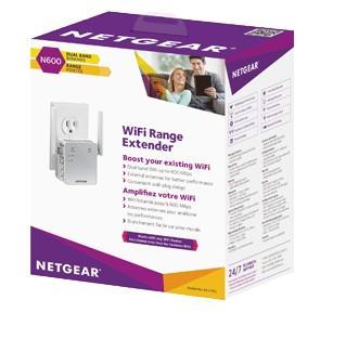 Wi-Fi Range Extender Ex3700 1pt N600