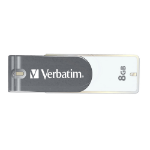 Verbatim Store'n'Go65002 8GB USB 2.0 USB Type-A connector Grey, White USB flash drive