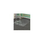 MARBIG® CHAIRMAT DURAMAT PVC LOW KEY 114X134CM A/STATIC