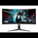 "AOC Gaming CU34G2/BK LED display 86,4 cm (34"") 3440 x 1440 Pixels WQHD Zwart, Rood"