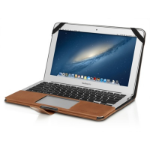 """Decoded Slim Cover 11"""" Sleeve case Brown"""