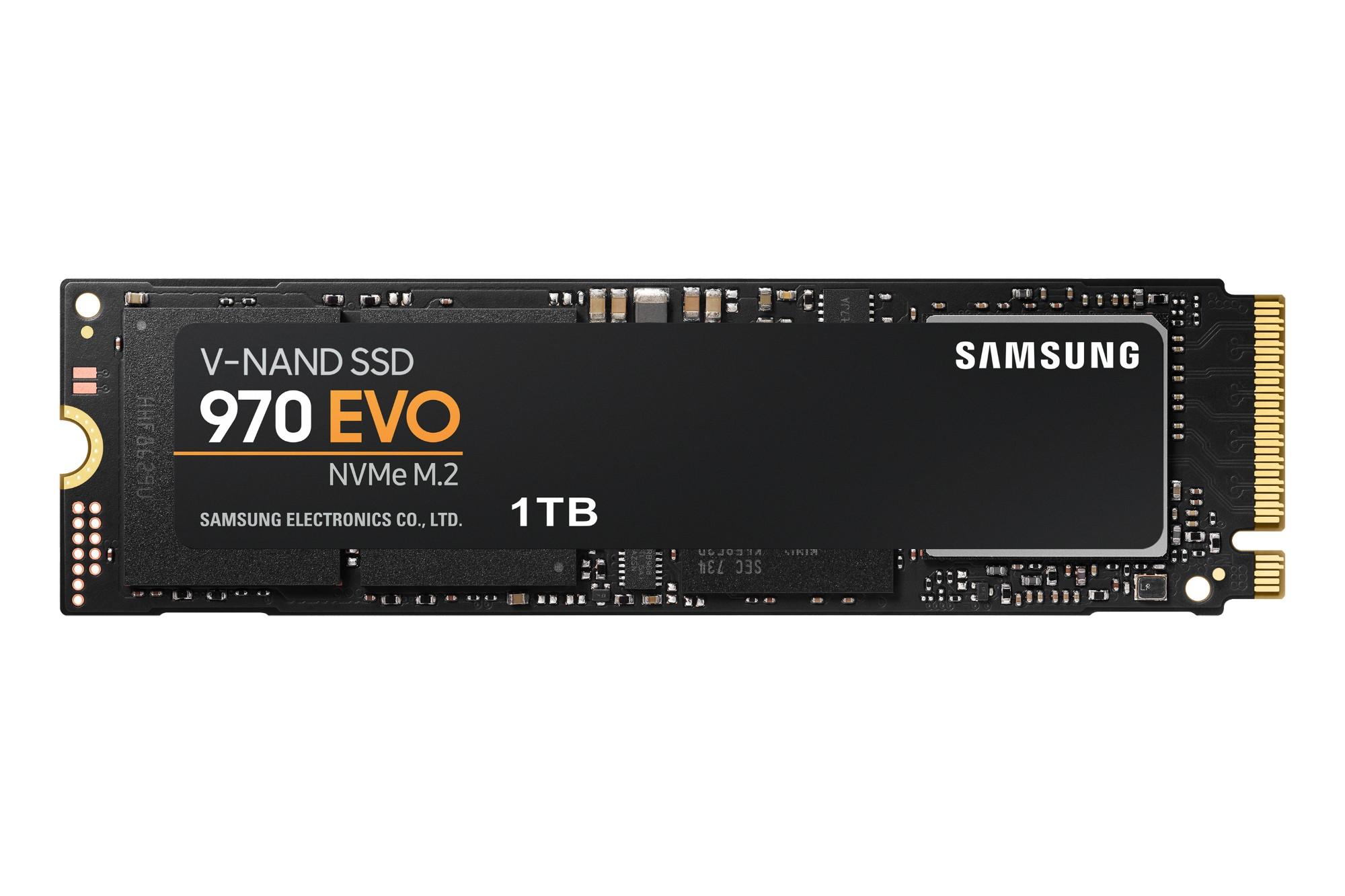 Samsung 970 EVO M.2 1000 GB PCI Express 3.0 V-NAND MLC NVMe