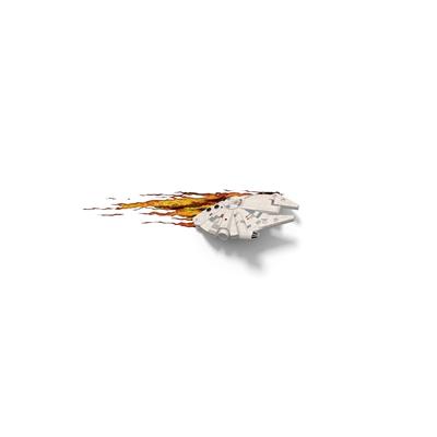 TARGET 3D Wall Light Millennium Falcon