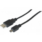 EXC 532489 USB cable 1.5 m 2.0 USB A Mini-USB B Black