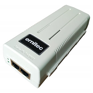 Ernitec ELECTRA-P-60W Gigabit Ethernet 52V PoE adapter