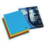 Rexel Cut Back Folders A4 Assorted (100)