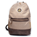 ASSASSIN'S CREED Origins Crest Logo Basic Style Backpack, Tan/Brown (BP305617ACE)