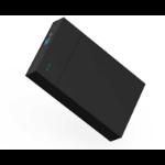 """Orico KIMAX 3.5"""" MR35T USB 3.0 SATA Screwless external HDD Enclosure Blackclosure Black"""