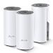 TP-LINK Deco E4 (3-pack) Blanco, Gris Interno Doble banda (2,4 GHz / 5 GHz) Wi-Fi 5 (802.11ac) 2