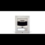 2N Telecommunications 9155301BS video intercom system Satin steel