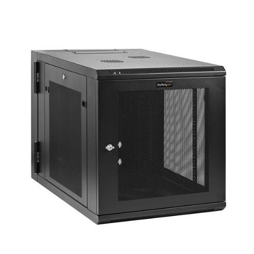 StarTech.com 12U Wall-Mount Server Rack Cabinet - 24 in. Deep - Hinged