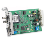 Moxa TCF-142-S-ST-RM serial converter/repeater/isolator RS-232/422/485 Fiber (ST)