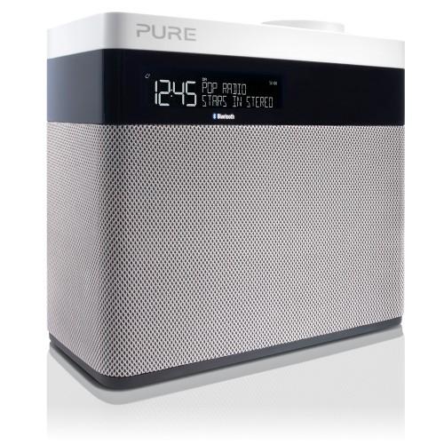 Pure Pop Maxi Portable Analog & digital Grey, White radio