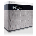 Pure Pop Maxi Portable Analog & digital Grey, White radio