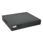 ACTi ENR-010P network video recorder 1U Black