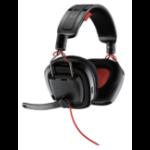 Plantronics GameCom 788 Binaural Head-band Black,Red headset