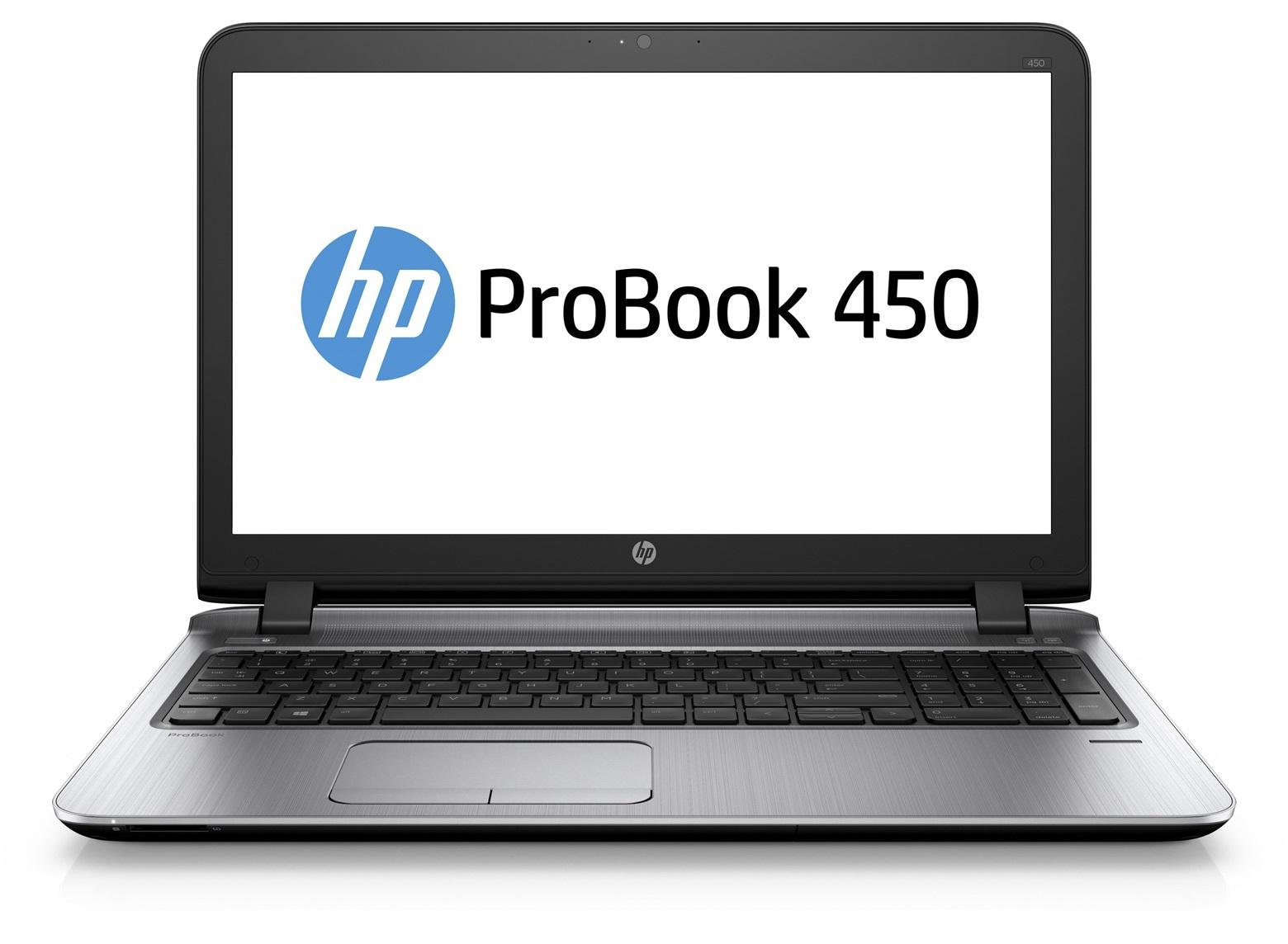 """HP ProBook 450 G3 2.3GHz i3-6100U 15.6"""" 1366 x 768pixels Silver"""