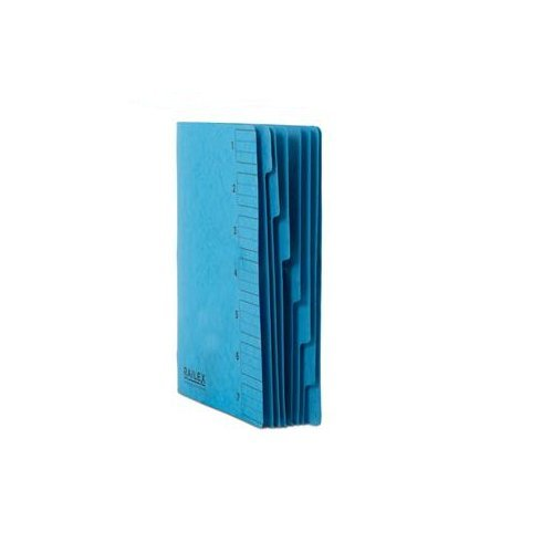 Railex 7 Part File Foolscap Turquoise PK10