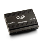 C2G HDMI Extender Black