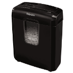 Fellowes Powershred 3C paper shredder Cross shredding 22 cm Black