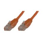 Microconnect B-UTP605O networking cable Orange 5 m Cat6 U/UTP (UTP)