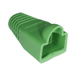 Cablenet RJ45 Bubble Boot Green 6mm