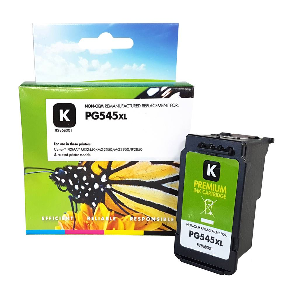 Refilled Canon PG545XL Black Ink Cartridge