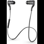 Plantronics BackBeat GO 2 In-ear Binaural Wireless Black mobile headset