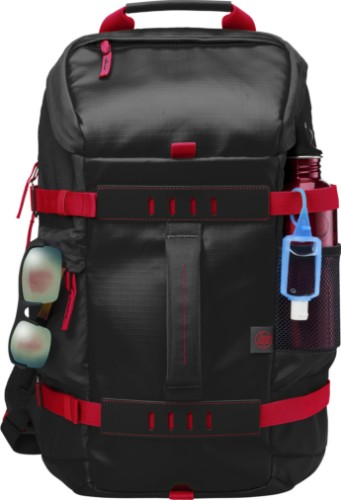 HP 15.6 in Odyssey Red/Black Backpack