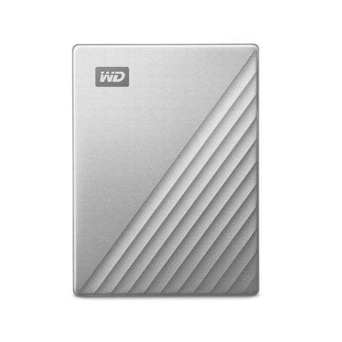 Western Digital WDBPMV0040BSL-WESN external hard drive 4000 GB Silver