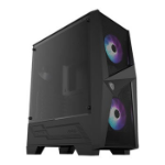 MSI MAG FORGE 100R Mid-Tower ARGB Gaming Case - Black Tempered Glass