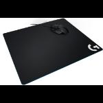 Logitech G G640 Gaming mouse pad Black