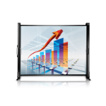 """Epson ES1000 50"""" 4:3,16:9 White projection screen"""