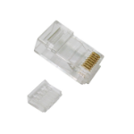 Cables Direct Cat 6 RJ-45 Plug (100pack) wire connector RJ45 Transparent