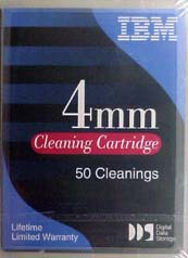 IBM 50-Pass 4mm Cleaning Cartridge